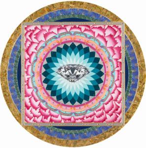 曼陀羅畫作零售 Mandala Drawing