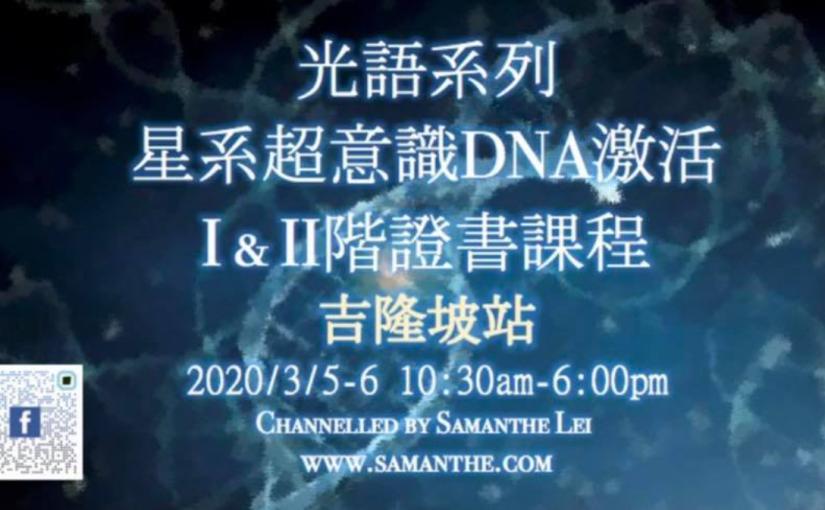 星系超意識Dna激活1、2階證書課程